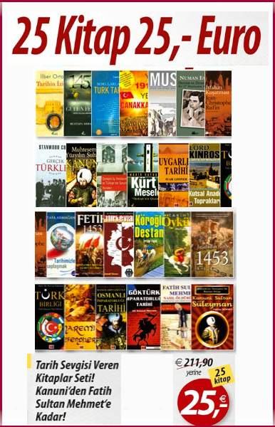 25 Kitap 25,- Euro <br />Tarih Sevgisi Veren <br />Kitaplar&#160; - Kanuni'den Fatih Sultan Mehmet'e Kadar!