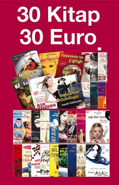 30 Kitap 30 Euro&#160;&#160;<br />% 80'e varan Indirim<br />TV'deki Kampanya
