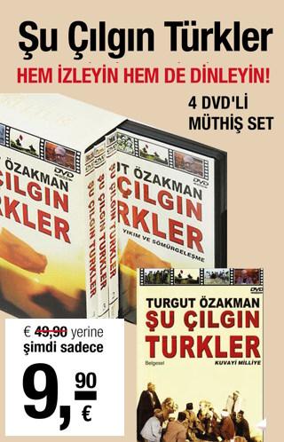 Şu Çılgın Türkler (4 DVD) Fırsat Kampanyası