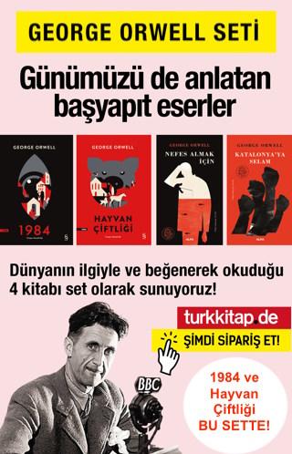 George Orwell Seti (4 Kitap) 1984 ve Hayvan Çiftliği Bu Sette1