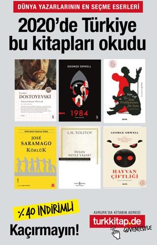 2020'de Türkiye Bu Kitapları Okudu -Efsane Olmuş Kitaplar (6 Kitap)